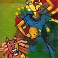 Durga by Abdus Salam
