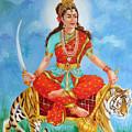 Durga Devi  by Kalpana Talpade Ranadive