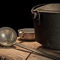 Dutch Oven And Ladle by Tom Mc Nemar