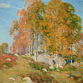 Early October by Willard Leroy Metcalf