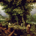 Earth Or The Earthly Paradise by Jan the Elder Brueghel
