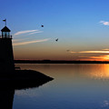 East Warf Sunset by Lana Trussell