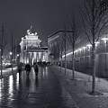 Ebertstrasse And The Brandenburg Gate by Pierre Logwin