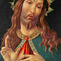 Ecce Homo Or The Redeemer by Botticelli