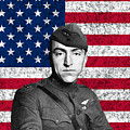 Eddie Rickenbacker And The American Flag by War Is Hell Store