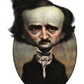 Edgar Allan Poe by Court Jones