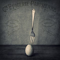 Egg And Fork by Ian Barber