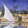Egypt Blue by Clive Metcalfe
