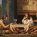 Egyptian Chess Players by Sir Lawrence Alma-Tadema