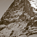 Eiger North Face by Frank Tschakert
