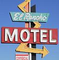 El Rancho Motel Stockton Ca by Troy Montemayor