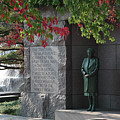 Eleanor's Alcove At The Fdr Memorial In Washington Dc by William Kuta