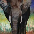 Elephant by Anthony Burks Sr