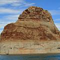 Elephant Rock Lake Powell by Chuck Wedemeier