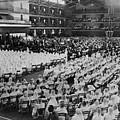 Elijah Muhammad Addressing An Assembly by Everett
