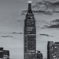 Empire State Building Morning Twilight Iv by Clarence Holmes