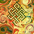 Endless Knot Two by Kevin J Cooper Artwork