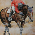Eric Lamaze And Hickstead by David McEwen