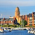 Erie Basin Marina by Kathleen Struckle