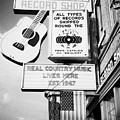 ernest tubbs record shop on broadway downtown Nashville Tennessee USA by Joe Fox