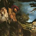 Et In Arcadia Ego by Giovanni Francesco Barbieri