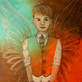 Ethan Little Angel Of Strength And Confidence by The Art With A Heart By Charlotte Phillips