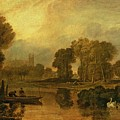 Eton College From The River by Joseph Mallord William Turner