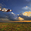 Evening Spitfire by Meirion Matthias