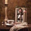 Evening Tea Still Life by Tom Mc Nemar