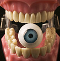 Eye Held By Teeth by Garry Gay