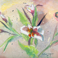 Faded Lilies by Arline Wagner