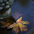 Fall At The Fountain by Rebecca Cozart
