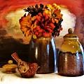 Fall Still Life by Marsha Heiken