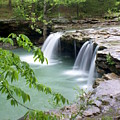Falling Water Falls 4 by Marty Koch