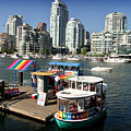 False Creek In Vancouver by Tom Buchanan