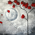 Far Side Of The Moon By Madart by Megan Duncanson