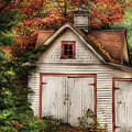 Farm - Barn - Our old shed Print by Mike Savad