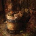 Farm - Pail - An Old Pail by Mike Savad
