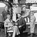 Fdr Presenting Medal Of Honor To William Wilbur by War Is Hell Store