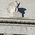 Federal Reserve Eagle Detail Washington Dc by Brendan Reals