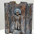 Female Figurine - Goddess Worship - Matrone - Matrones -matronen - Matrona - Diosa-nettersheim Eifel by Urft Valley Art