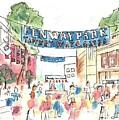 Fenway Park by Matt Gaudian