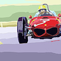 Ferrari 156 Dino 1962 Dutch Gp by Yuriy  Shevchuk