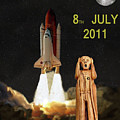 Final Shuttle Mission 8th July 2011 by Eric Kempson