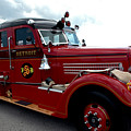 Fire Truck Selfridge Michigan by LeeAnn McLaneGoetz McLaneGoetzStudioLLCcom
