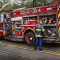 Firemen - The Modern Fire Truck by Mike Savad
