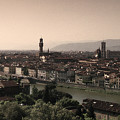 Firenze At Sunset by Andrew Soundarajan