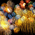 Fireworks Exploding  by Garry Gay