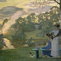 Fireworks by Konstantin Andreevic Somov