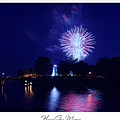 Fireworks Over Concord Point Lighthouse Havre De Grace Maryland Prints For Sale by Michael Grubb